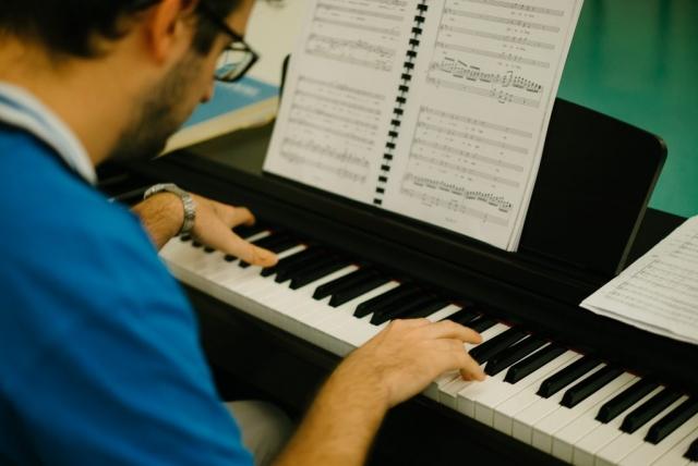 Qatar Concert Choir pianist