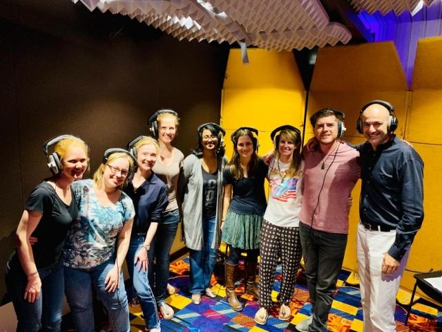 Studio Recording Chamber Choir @Katara Studios
